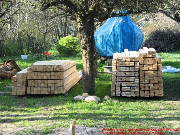 sterty drewna