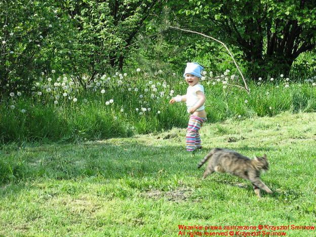 marysia i kot