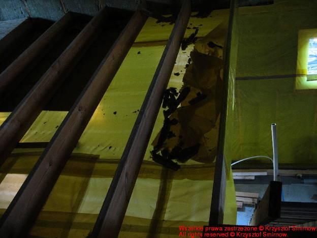 warstwy stropu