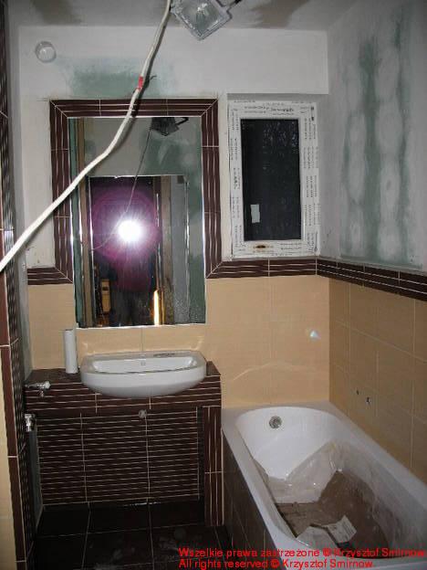 Łazienka, tylko pomalować.