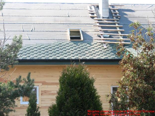 okno dachowe północne