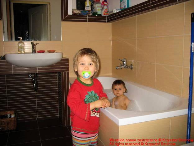 Pierwsza kąpiel