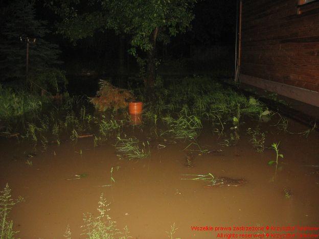 Woda już pod domem
